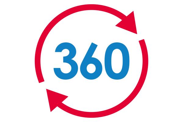 Cubiks 360 Logo for candidate feedback
