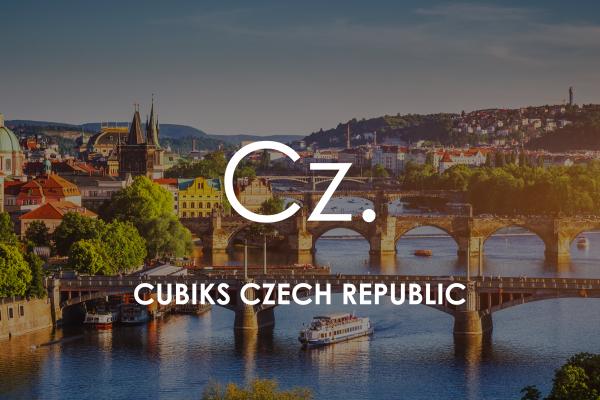 Prague cityscape for Cubiks Offices Czech Republic