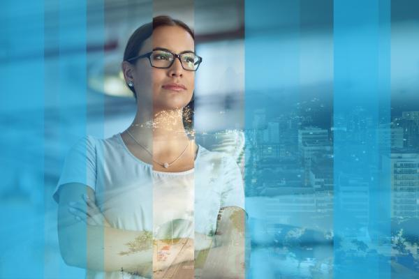Cubiks professional woman considers People Analytics