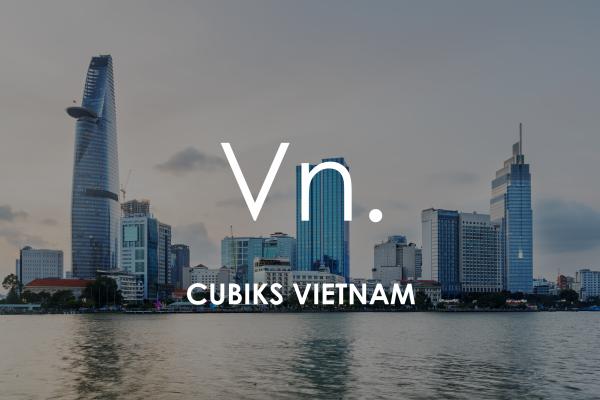Ho Chi Minh City (Saigon) cityscape for Cubiks Offices Vietnam