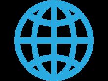Globe Lines Icon